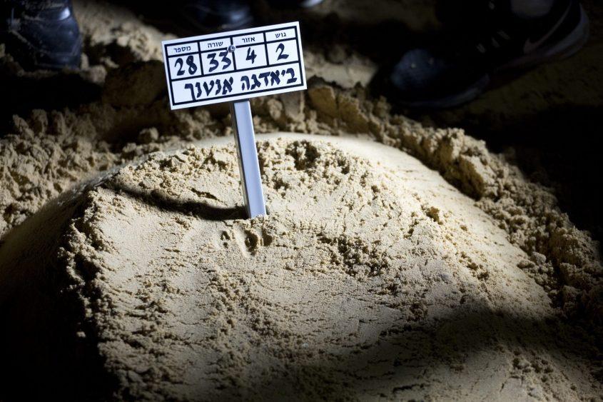 """קברו של יהודה ביאדגה ז""""ל. צילום: מוטי מילרוד"""