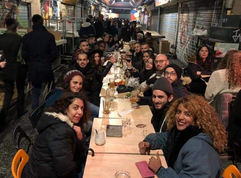הסטודנטים מאשקלון בירושלים