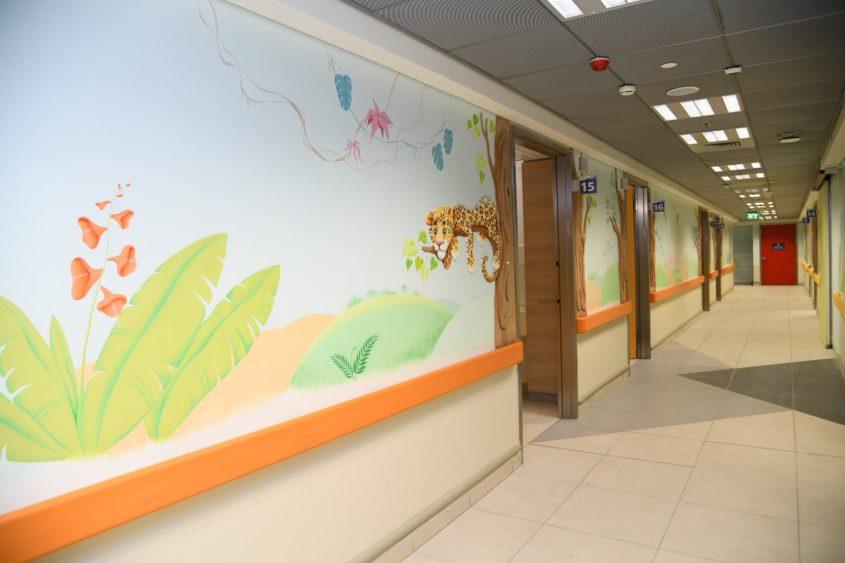 מעוצב ומתקדם. מחלקת הילדים החדשה בברזילי. צילום: מורן ניסים, צילום רפואי ברזילי