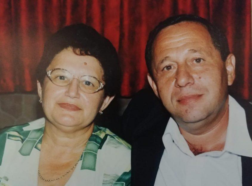 """ליאוניד ואשתו אלה ז""""ל צילום: אלבום משפחתי"""