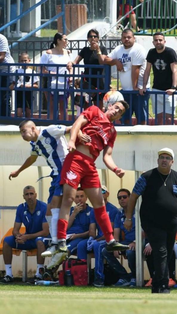 'אני צופה לו עתיד ורוד בכדורגל הישראלי, מאמנו לשעבר של אברג'ל, עומרי כהן