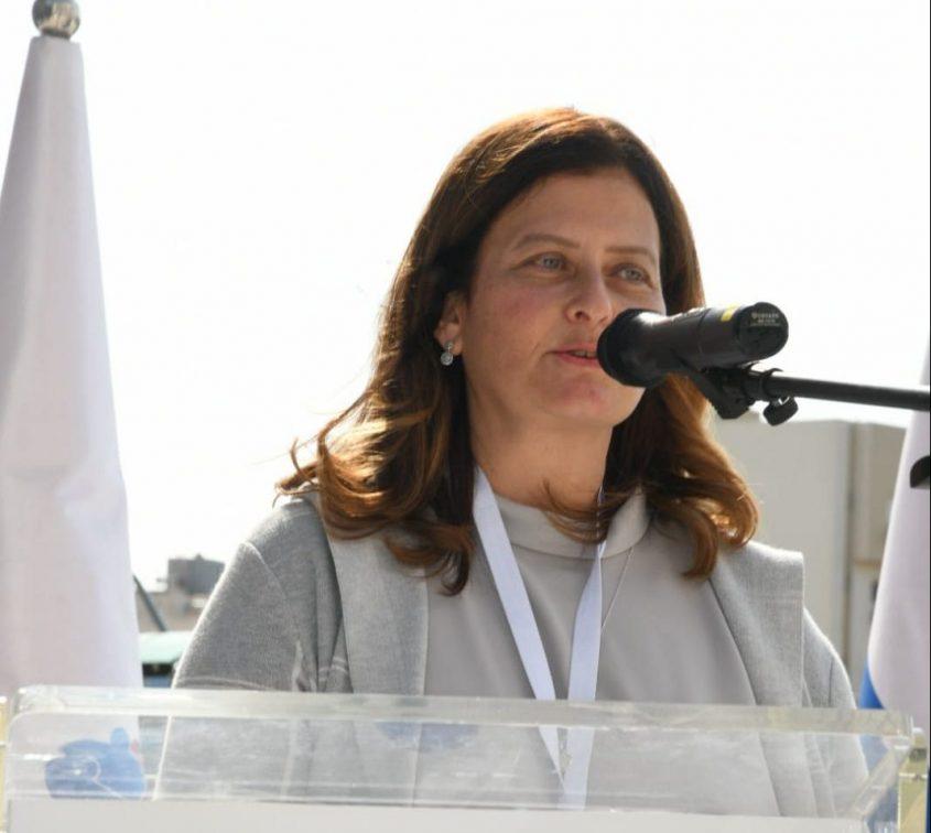 """מנהלת מחלקת הילדים ד""""ר . צילום: דוד אביעוז, דוברות ברזילי"""