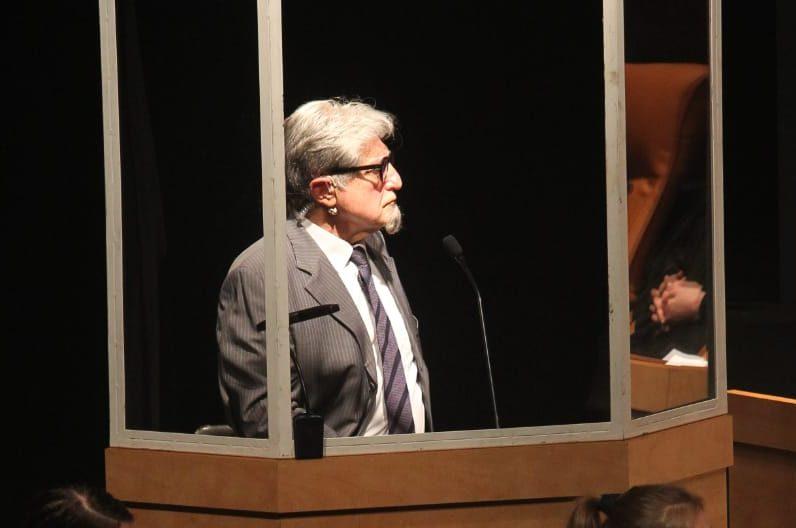 אלכס אנסקי מגלם את הפושע הנאצי. צילום: חגי אופן, תדמית