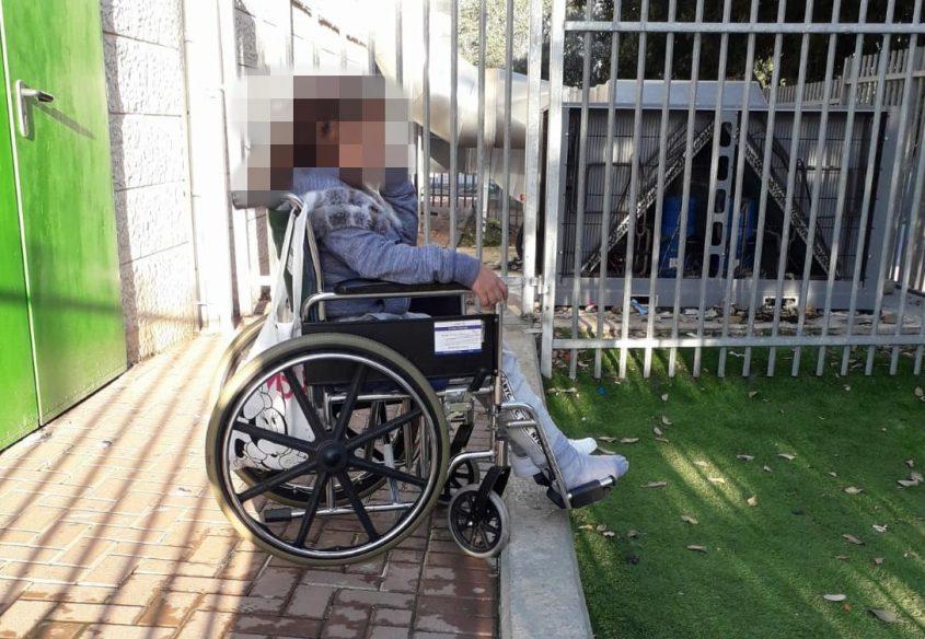 """""""הנפש שלה נפגעה"""". ליאן על כסא גלגלים"""