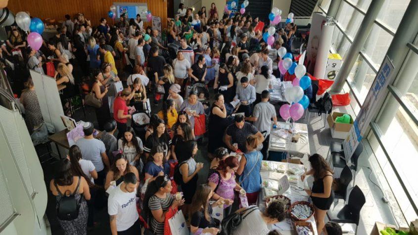 מאות זוגות בכנס היריון ולידה