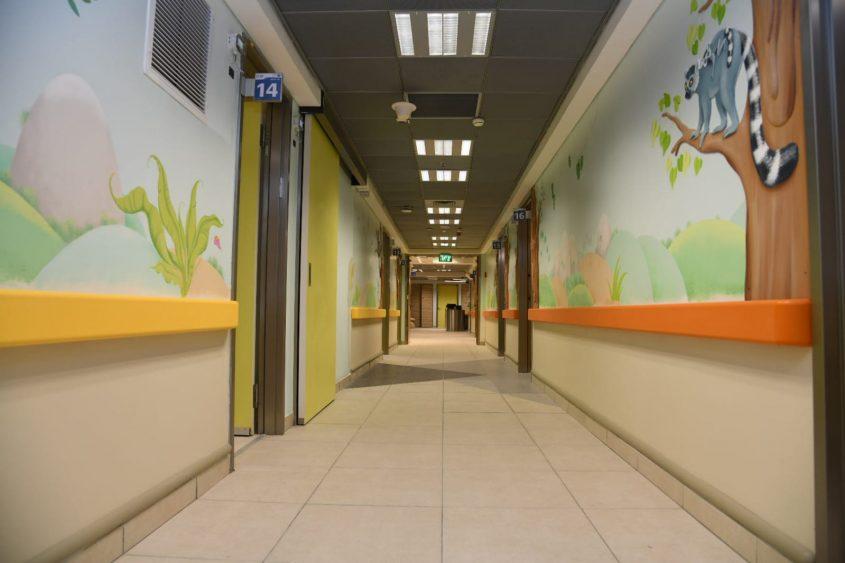 מחלקת הילדים החדשה בברזילי. צילום: מורן ניסים, צילום רפואי ברזילי