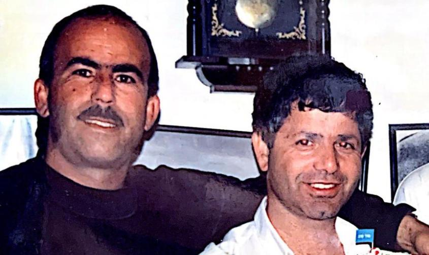 פיני ביטון (משמאל) עם ג'קי זריהן