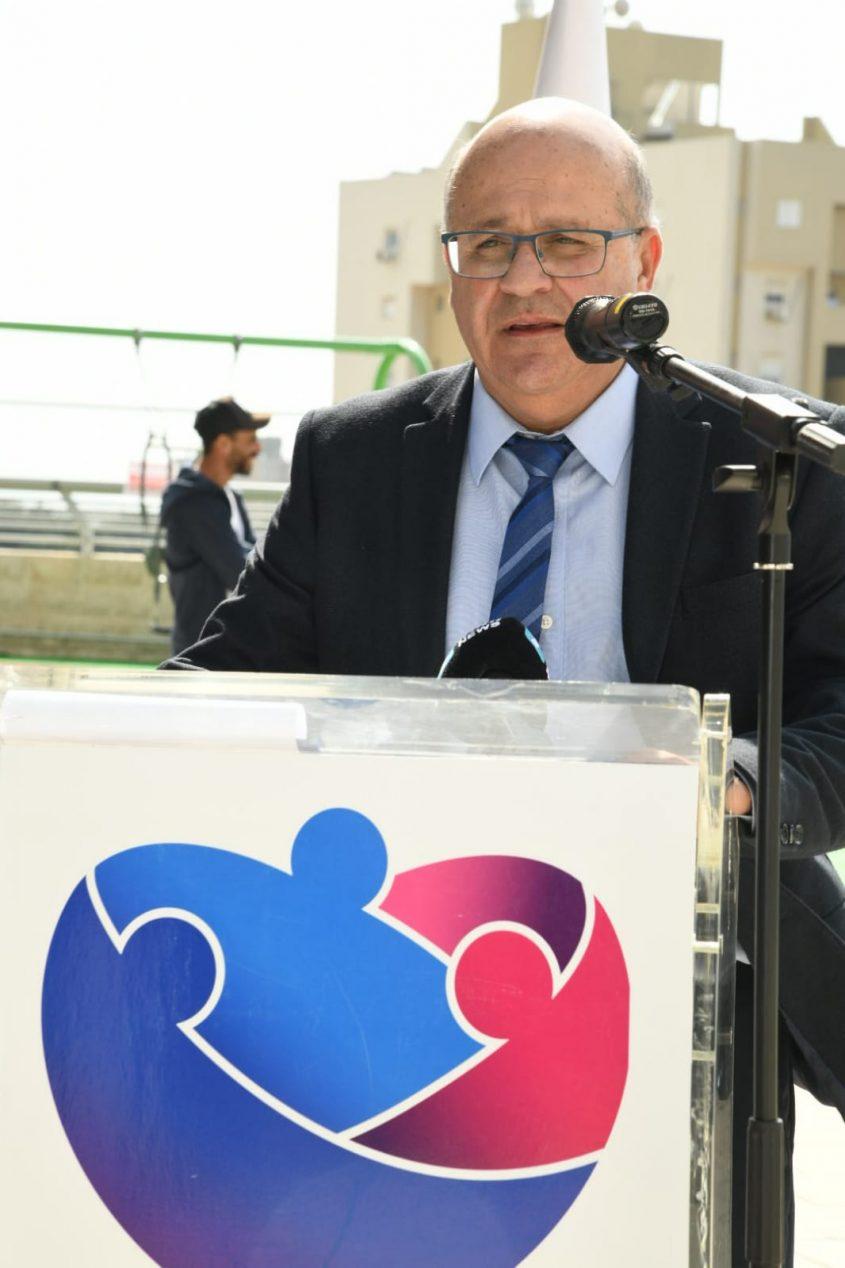 """מנכ""""ל המרכז הרפואי ברזילי, פרופ' חזי לוי. צילום: דוד אביעוז, דוברות ברזילי"""