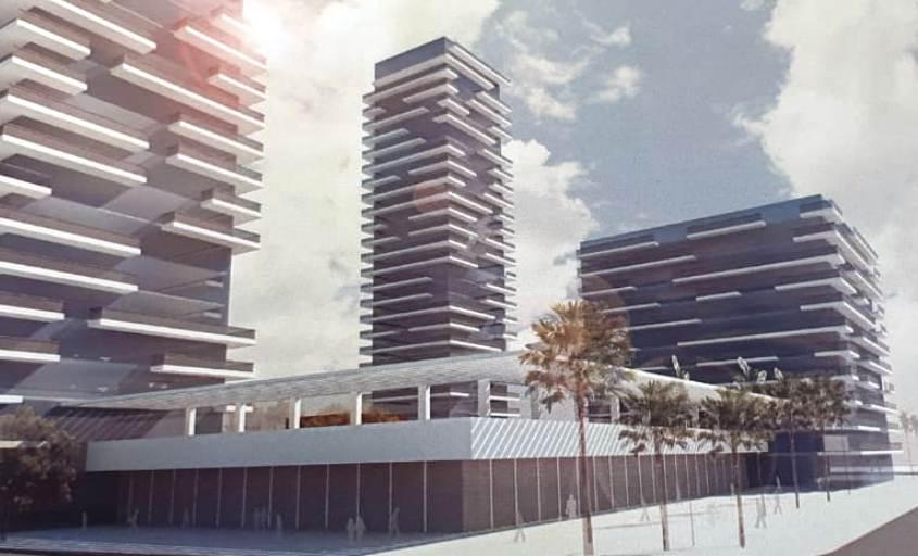 הדמיית מלון פרדייז. אדריכלות: רענן זיס