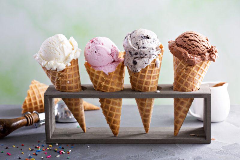 גלידריות מומלצות באשקלון. תמונה ממאגר Shutterstock