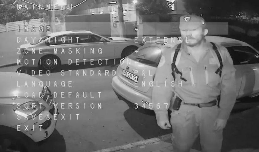מי זה השודד בסרטון האבטחה? באדיבות: פוסטה
