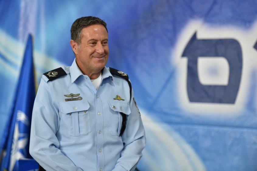 מהיום אמרו מפקד המחוז הדרומי במשטרה ניצב יורם סופר. צילום: דוברות המשטרה