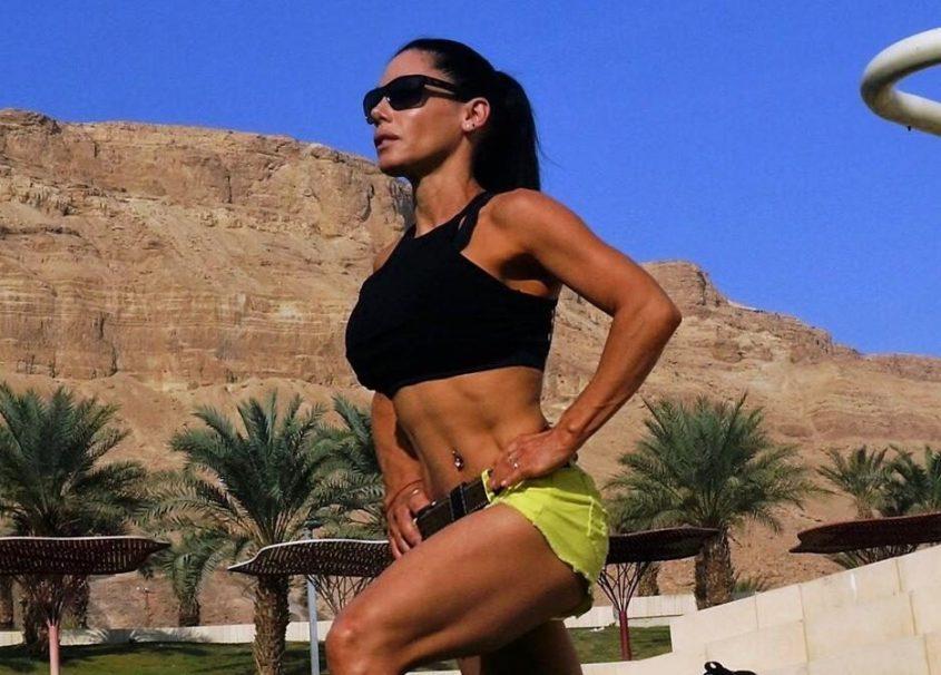 רגינה פיינגרש, שומרת על אורח חיים בריא גם בזמן חופשה
