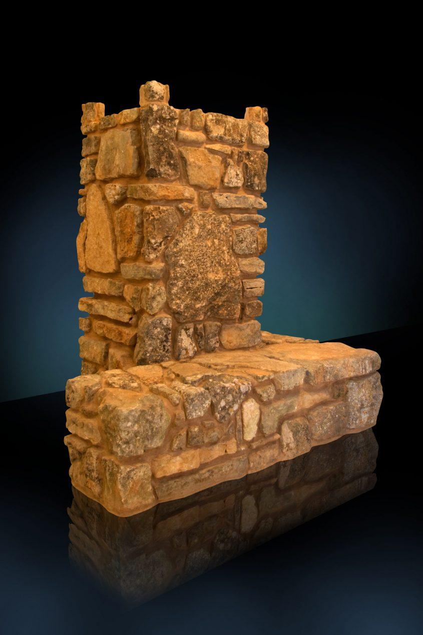 מזבח העולה במכון המקדש. האמן אסף קדרון