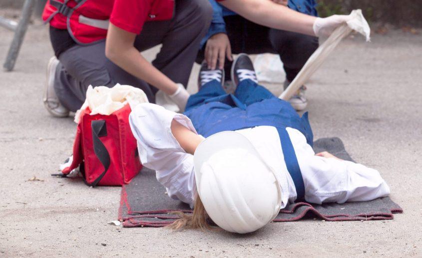 פצוע בתאונת עבודה. אילוסטרציה: א.ס.א.פ קריאייטיב / INGIMAGE