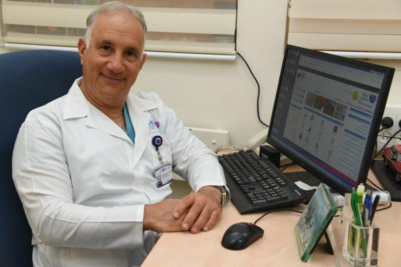 """ד""""ר רן טליסמן. צילום: דוד אביעוז"""