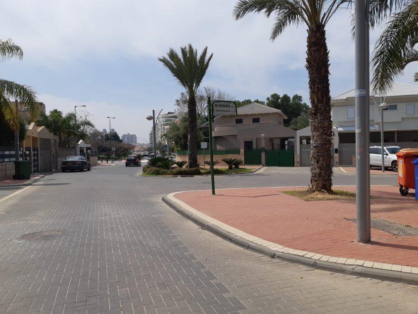 רחוב מבצע עציוני באשקלון. צילום: אלירם משה