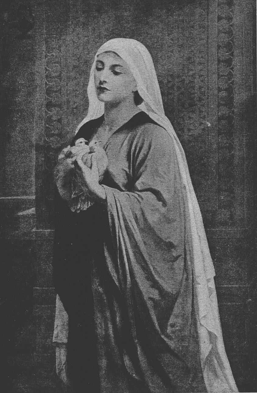 קורבן יולדת מאת גודאל. מתוך ויקיפדיה