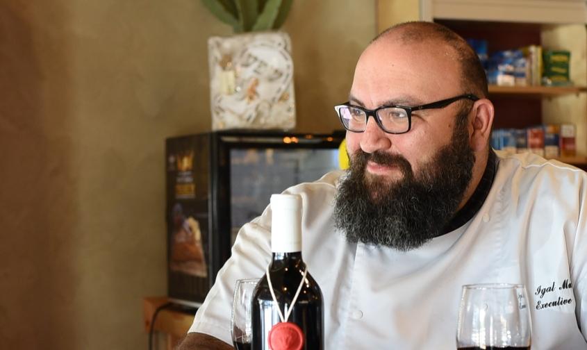 שף יגאל מולנר. צילום: עדי תשובה