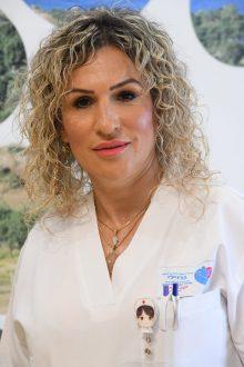 מזל אמויאל - אחות אחראית במכון אונקולוגיה. קרדיט צילום: דוד אביעוז, צילום רפואי ברזילי