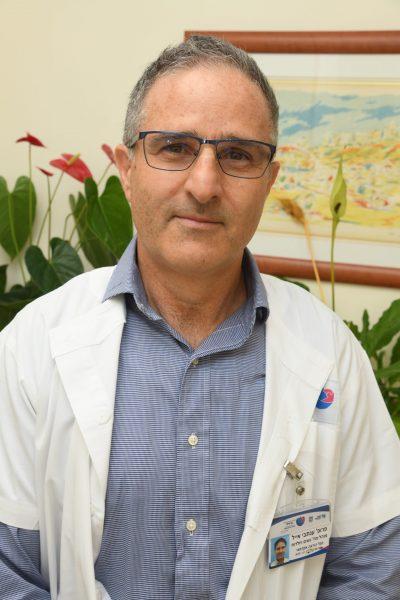 פרופ אייל ענתבי מנהל מערך מיילדות וגינקולוגיה במרכז הרפואי ברזילי. קרדיט צילום: דוד אביעוז, צילום רפואי ברזילי