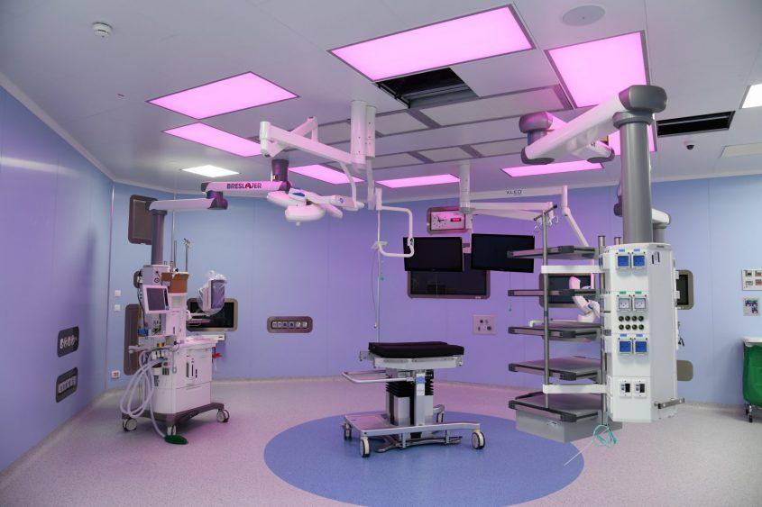 חדר ניתוח במרכז הרפואי ברזילי