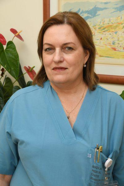 דר אלה איבשין מנהלת חדרי הלידה במרכז הרפואי ברזילי. קרדיט צילום: דוד אביעוז, צילום רפואי ברזילי