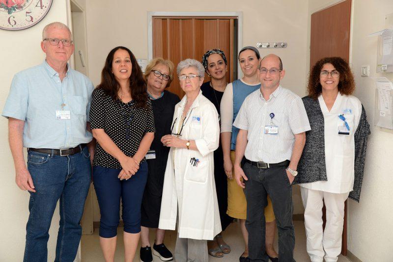 צוות המכון הגנטי. קרדיט צילום מורן ניסים צילום רפואי