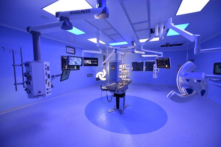 חדרי הניתוח החדשים. קרדיט צילום - צילום רופאי ברזילי