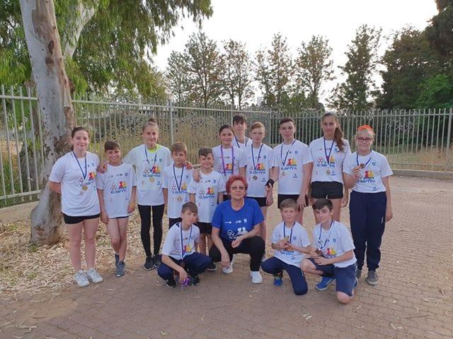 אולימפיאדת הילדים: 9 מדליות לנבחרת האקרובטים מאשקלון