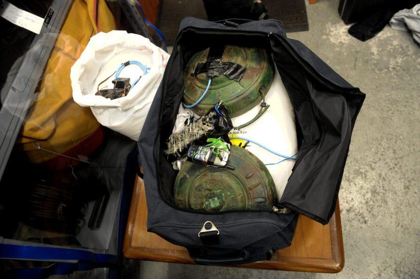 מטען חבלה. צילום: מורן מעיין/ג'יני