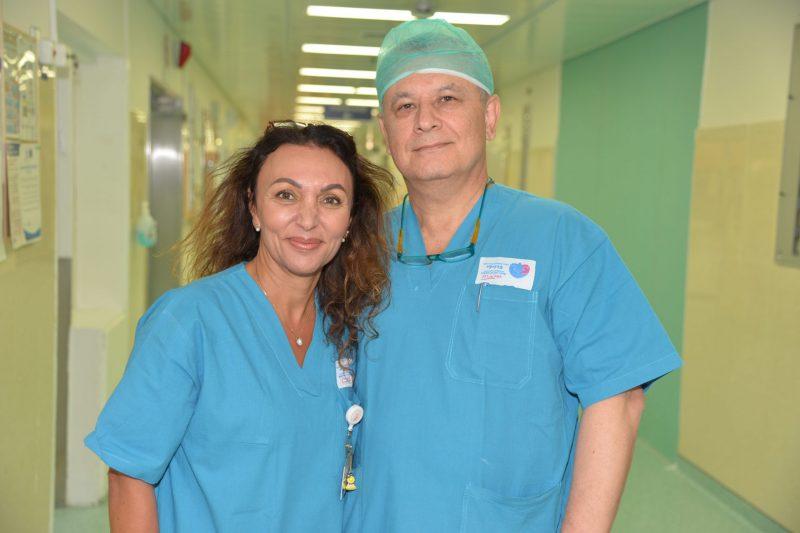 דר שלמן ובן חמו. צילום רפואי ברזילי