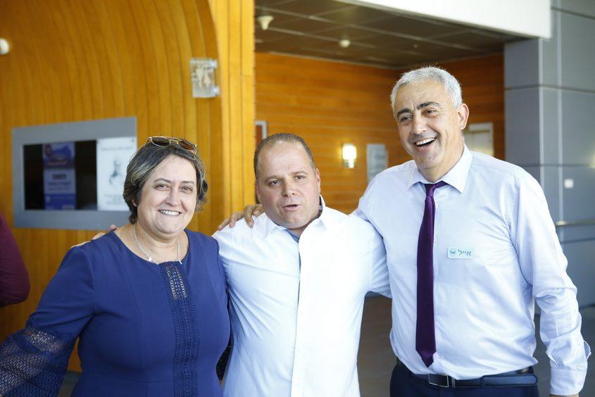 אייל חסאן, תומר גלאם ויפה בן דוד. צילום: פבל