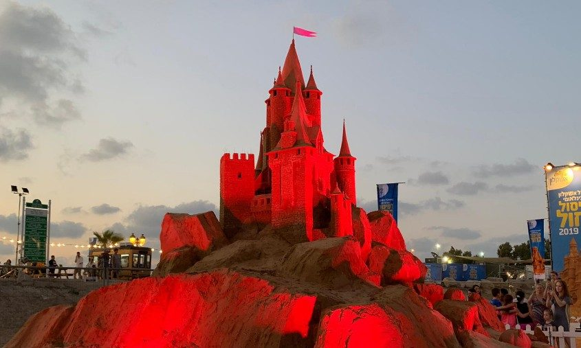 פסטיבל הפיסול בחול. צילום: שירה פריינד