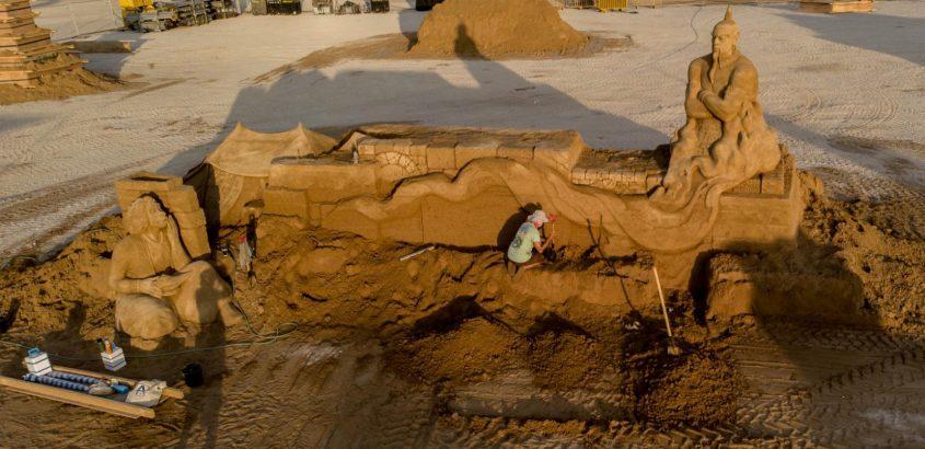 הג׳יני, העיר אגרבה ואלאדין. צילום: שלמה בן אל ויונה אלמוג