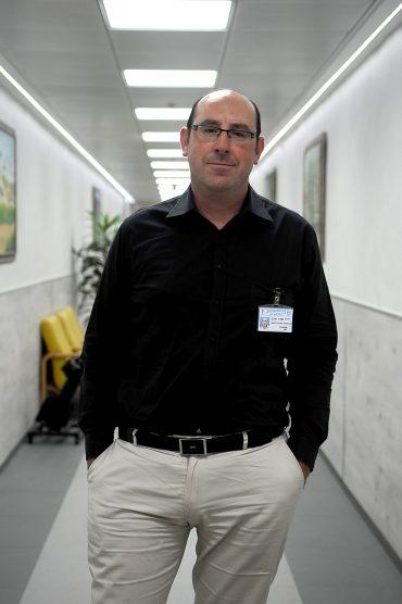 פרופסור יניב שרר. צילום: צילום רפואי המרכז הרפואי ברזילי