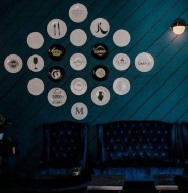 לובי במסעדת השף בלוס אנג'לס בעיצוב סלי צ'פרק. צילום: Kinsey v photography, Los Angeles