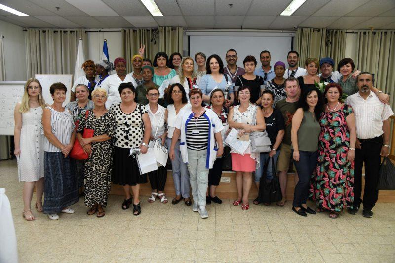מחלקת משק וניקיון. צילום: המרכז הרפואי ברזילי