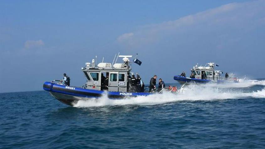 שיטור ימי. צילום: דוברות המשטרה