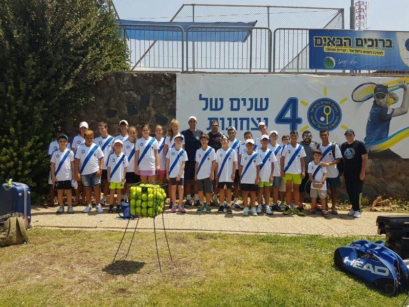 הספורטאים מקבלים המון תמיכה ועידוד (צילום: מרכז הטניס והחינוך אשקלון)