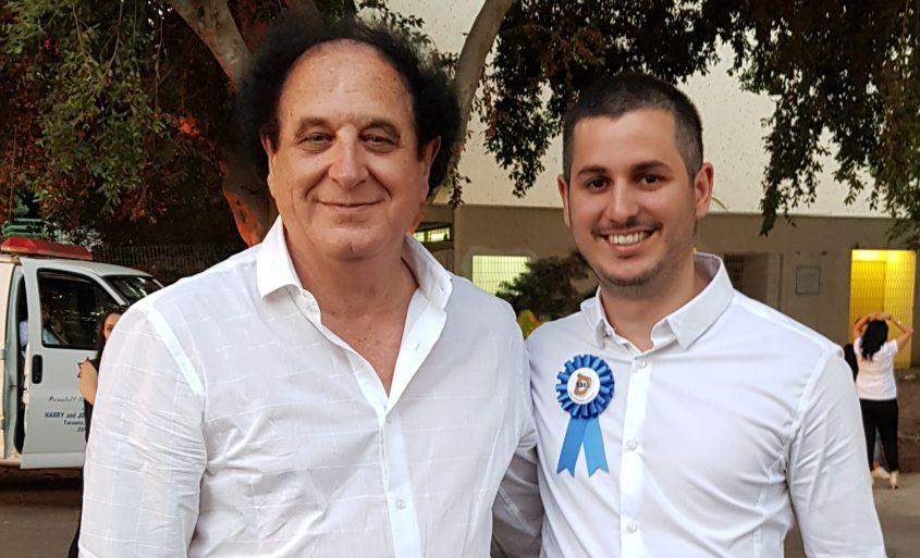 """עו""""ד יעקב ביטון ובנו ירדן. צילום: אלבום פרטי"""