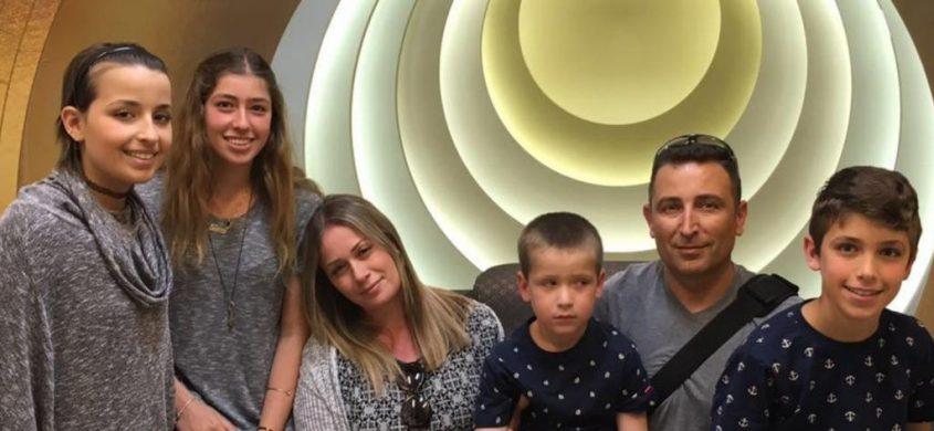 משפחת שואן. טליה משמאל