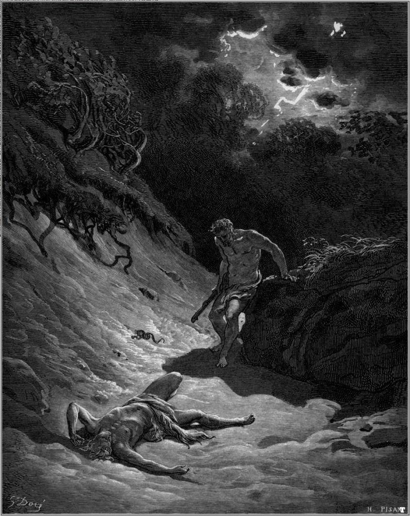 מותו של הבל, גוסטב דורה. מתוך ויקיפדיה