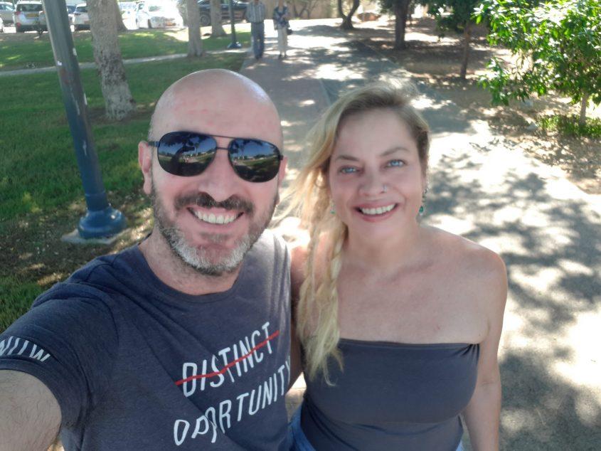 טטרו עם אשתו שני שטלריד