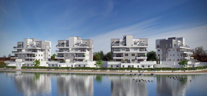 יחידות הדיור האחרונות בפרויקט היוקרה 'אסום באגמים' (אילוסטרציה: סטודיו mor)