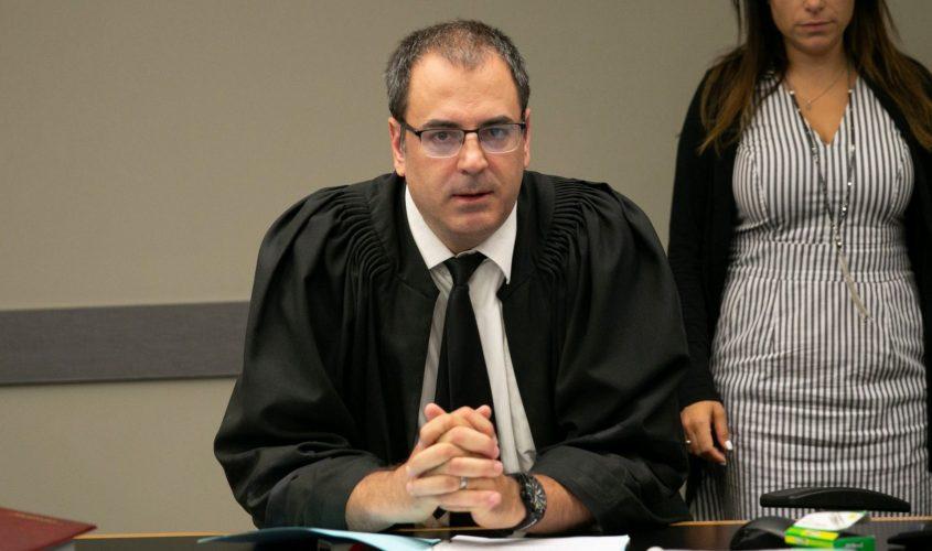 השופט בני שגיא. צילום: תומר אפלבאום