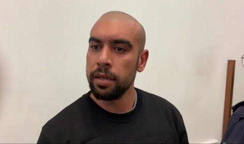 זיאד אעביד בבית המשפט