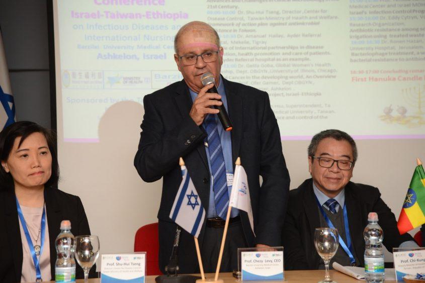 פרופ' חזי לוי מנהל המרכז הרפואי ברזילי (צילום: יח״צ בי״ח ברזילי)