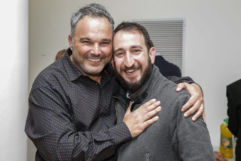 עופר אמסלם ותום כהן. צילום: אבי נישינבר