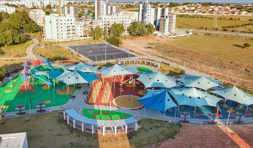פארק אגמים. צילום: אדי ישראל